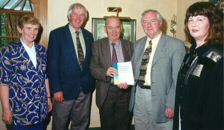 Pictured At The Launch Of The 1999 Tipperary Historical Journal: Peggy Guilfoyle [PRO]; Dr. William Nolan [Chairman]; Marcus Bourke [Editor]; Michael Coady; Kitty Barry [Vice-Chairperson].