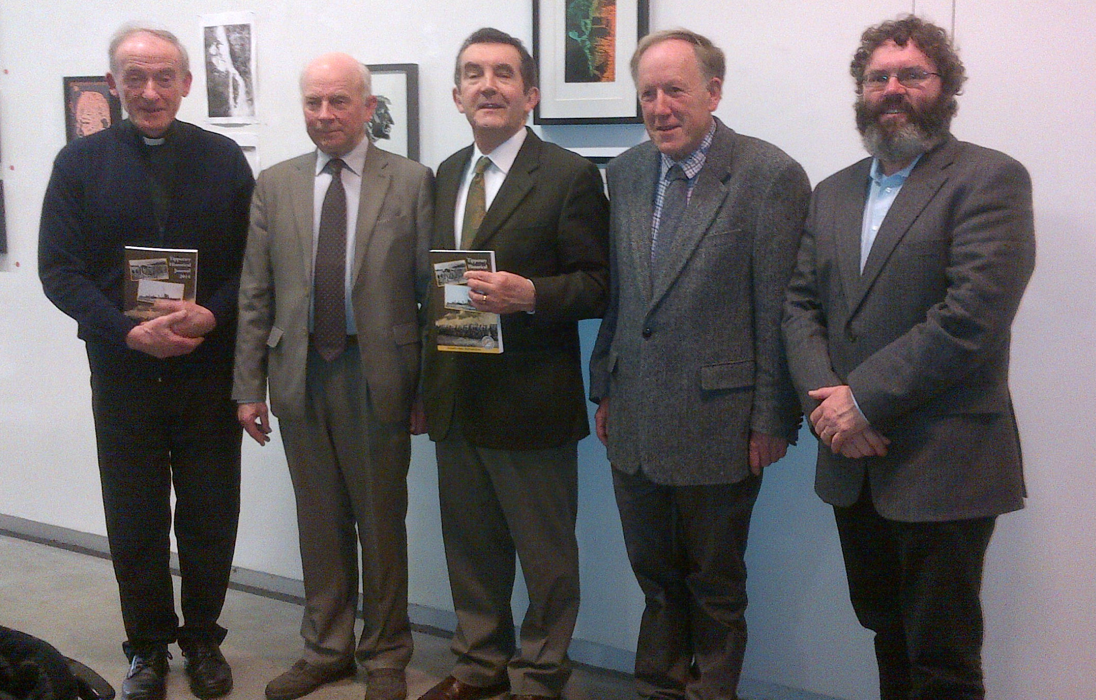 At The Launch Of The 2010 Tipperary Historical Journal: [from Left To Right] Donal O'Regan; Fr. Christy O'Dwyer; Richard O'Brien, Chair Of The County Tipperary Historical Society; Richard Clutterbuck; Mary Guinan-Darmody; Denis Marnane; Liam Irwin Of The History Department, Mary Immaculate College Of Education, Who Officially Launched The Journal; Danny Grace; Dónall Ó Fionnáin, Editor Of The 2010 Tipperary Historical Journal; Willie Nolan; Alice McDermott, History Department, Waterford Institute Of Technology, Contributor To The Journal And Liam Ó Duibhir. [Thanks To Carmel O'Donnell For The Photo!]