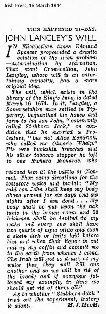 Irish Press 16-3-1944