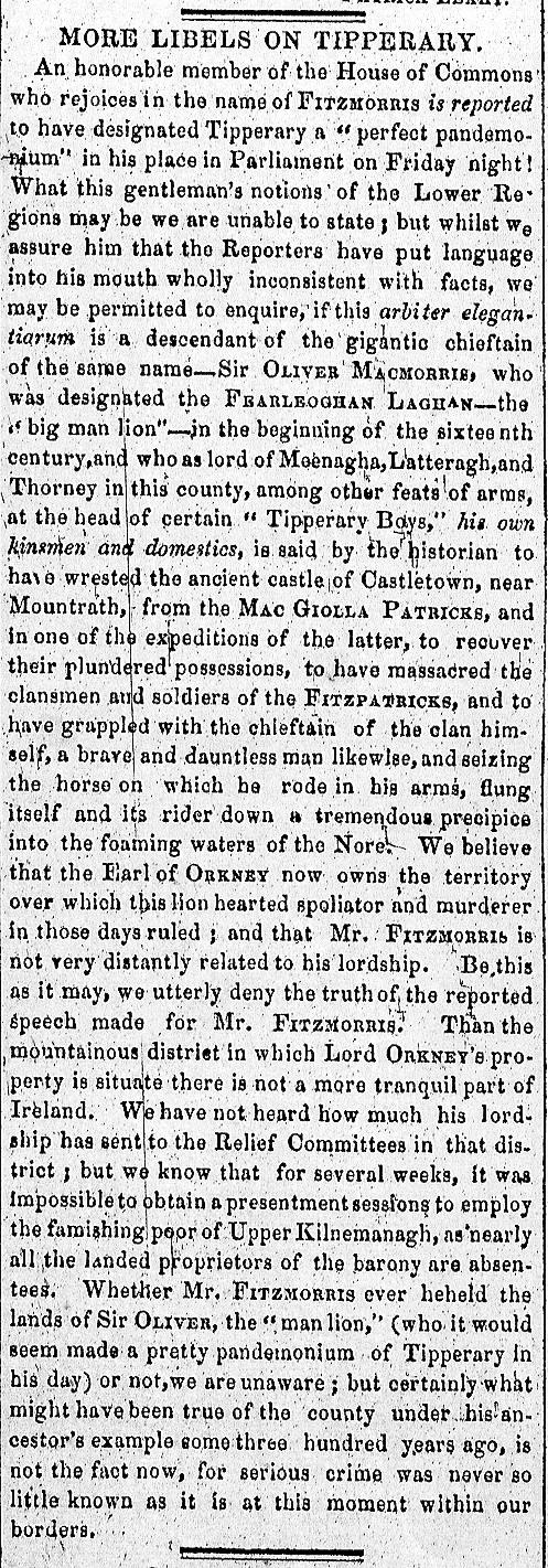 Tipp Vindicator 21 April 1847