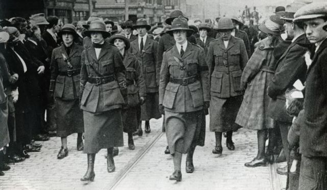 The Women Of The 1916 Rising, Maura Barrett: Killenaule, Wed. 4 May