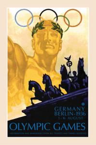 1936-Germany-Berlin-Olympics Poster