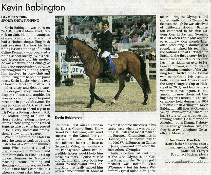 Kevin Babington Star