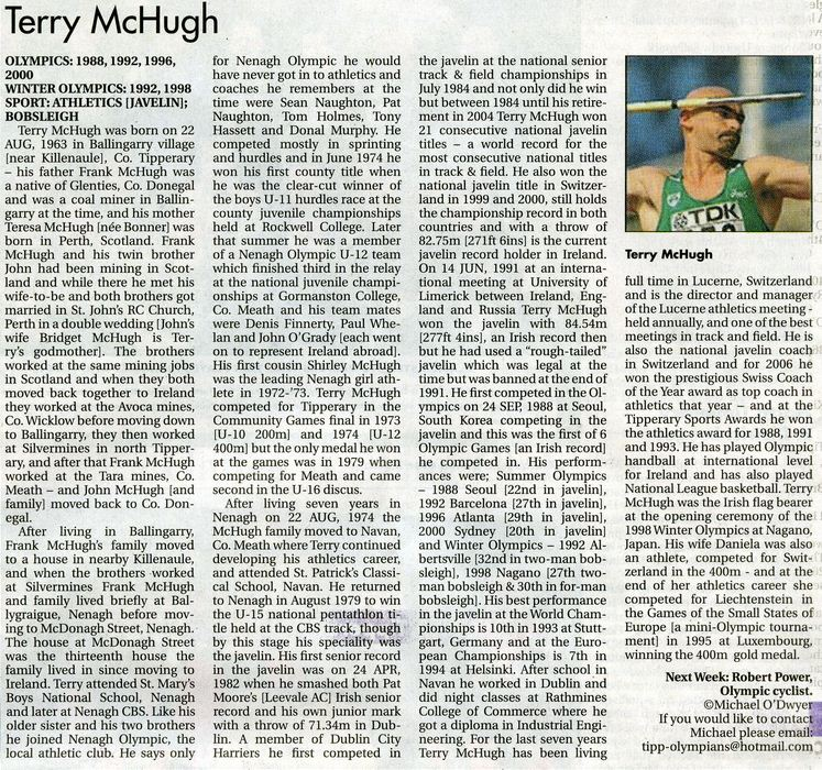 Terry McHugh Star