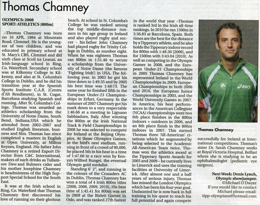 Thomas Chamney Star