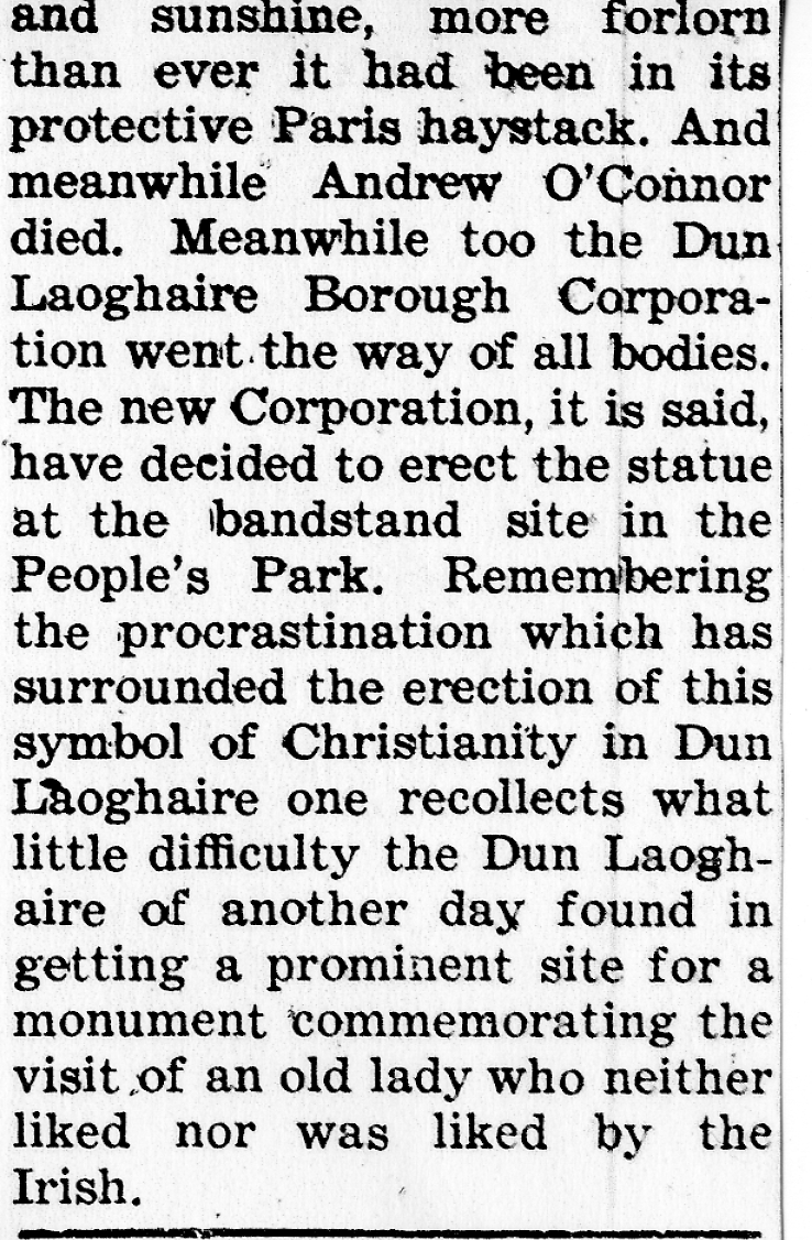 Nenagh Guardian 27 Jan 1951 Dun Laoghaire B