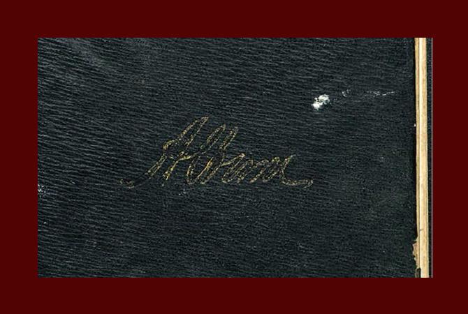 Hassett Autograph Book 1918 1919