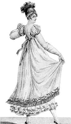 1819 – Court Frowns At 'Viper's' Ill-Gotten Gowns