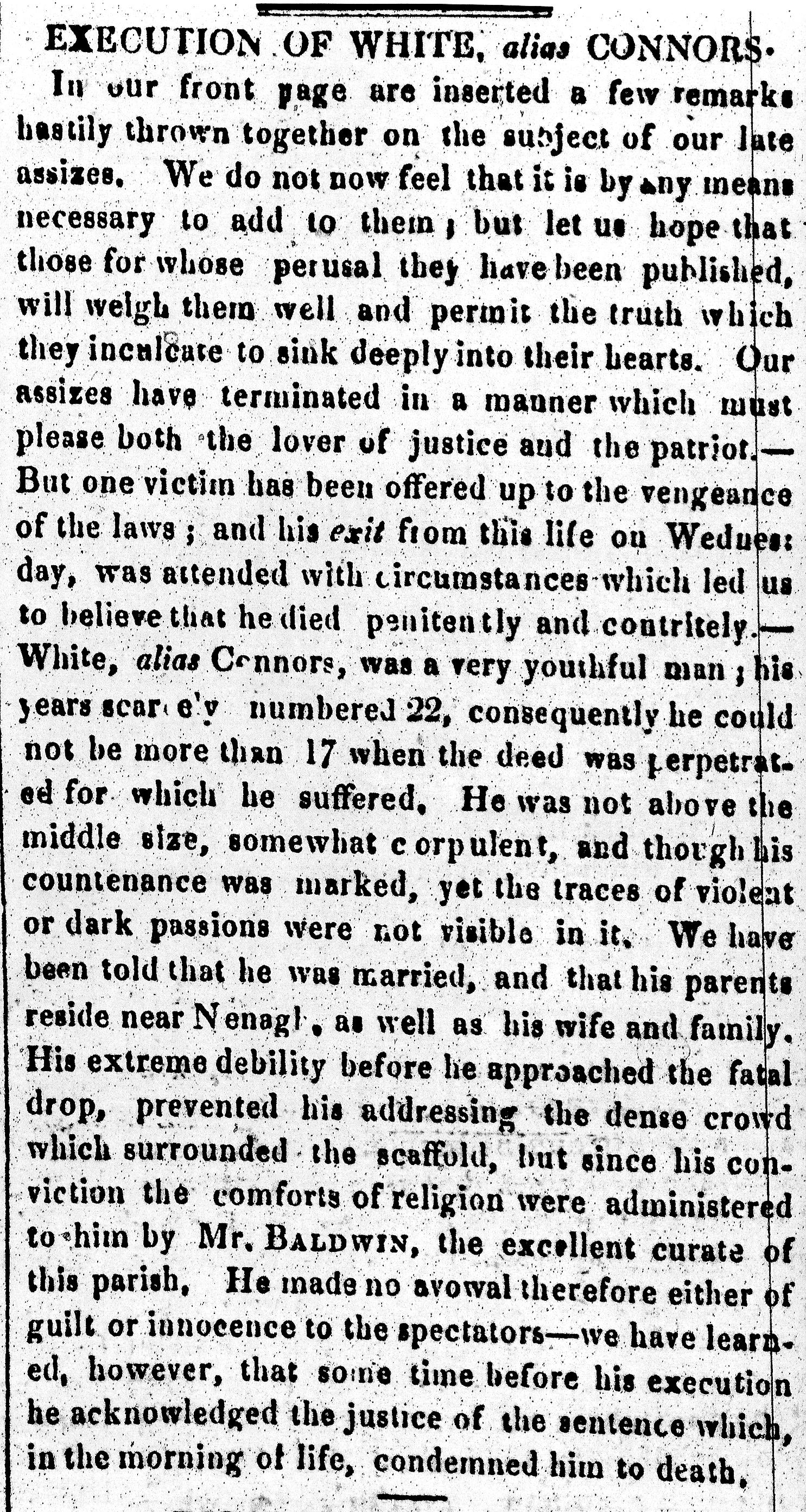 TFP 29 Mar 1834 White Hanged