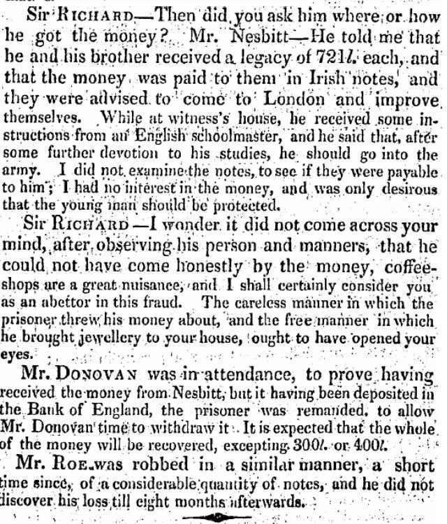FJ4 11 Apr 1825 Robbery