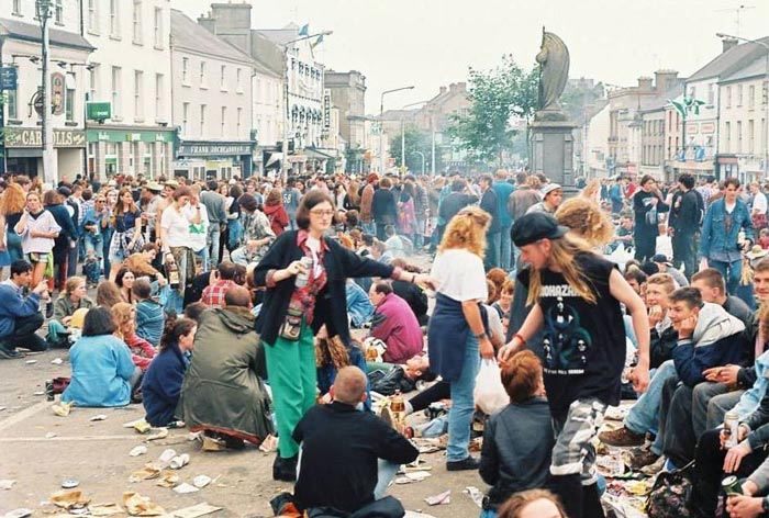 1993 – Townsfolk In Uproar Due To Féile Number Four