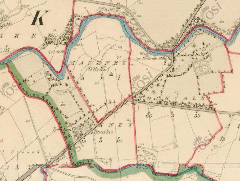 Rockvale Newport Map