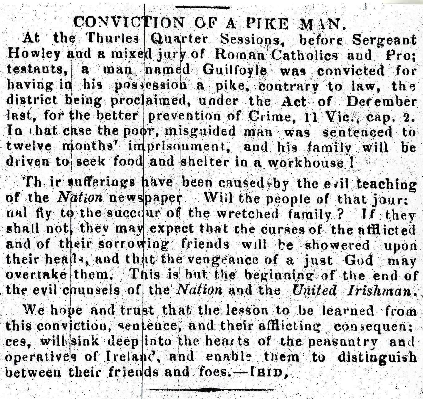 TFP 10 May 1848 Pike