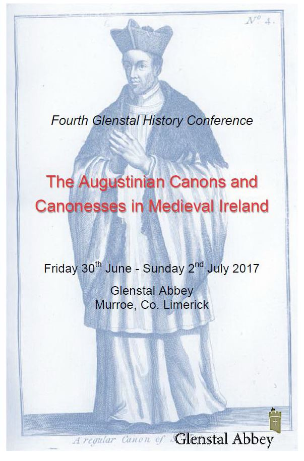Fourth Glenstal History Conference – 30 June – 2 July 2017