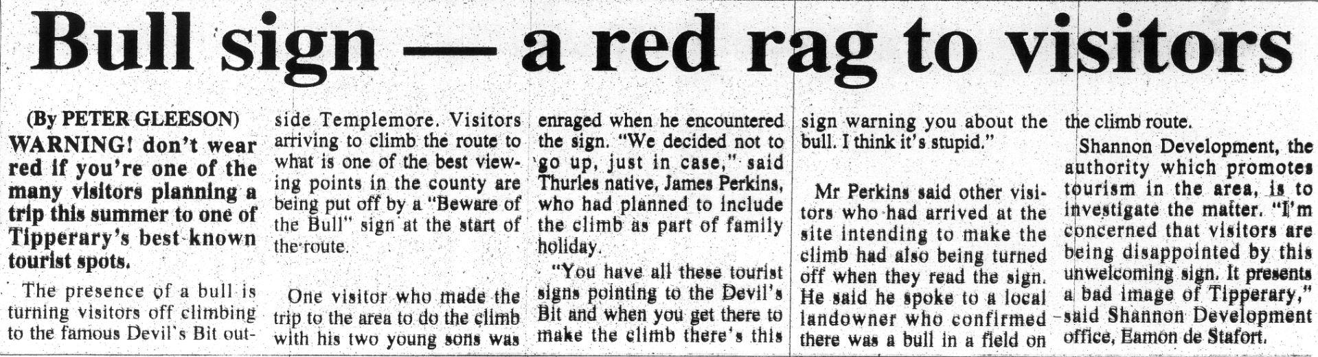 Tipperary Star 15 August 1998