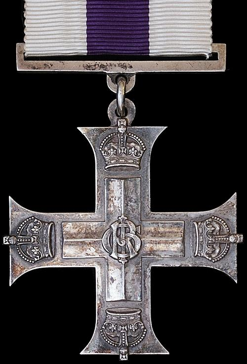 Do You Want To See An Original Military Cross Medal ?