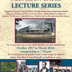 Tipperary People & Places Lecture Series 2017/18
