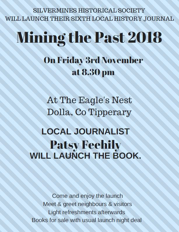 Mining The Past Launch, Friday 3 Nov @8.30pm, Dolla