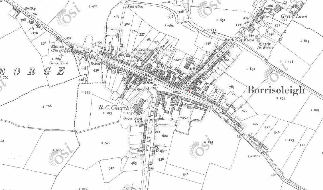 Borris map