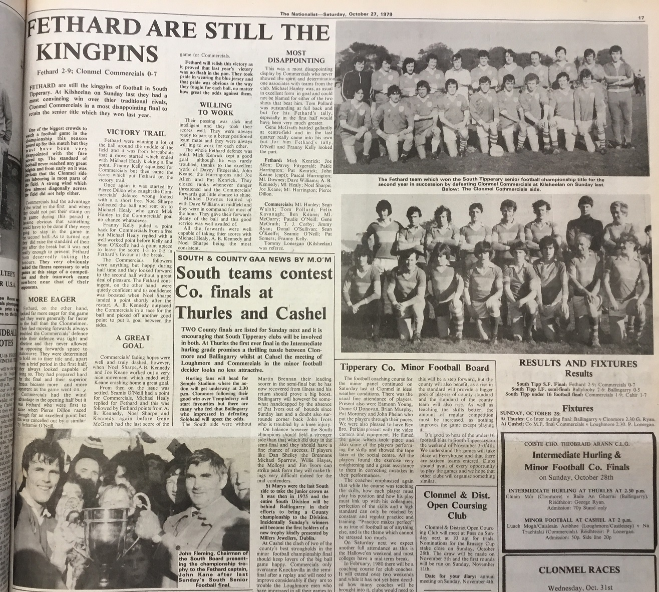 1979 South football final
