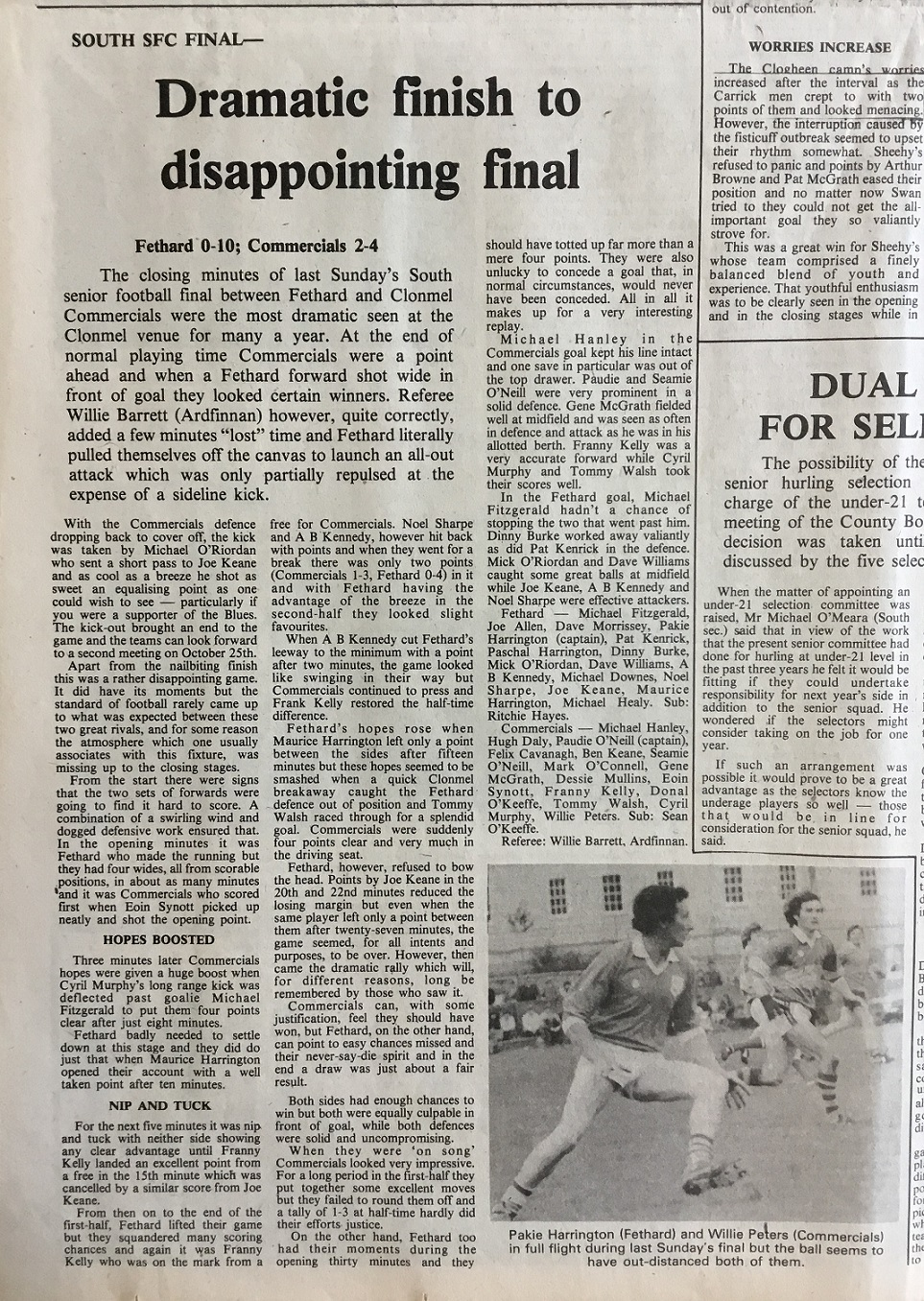 1981 South football final (2)