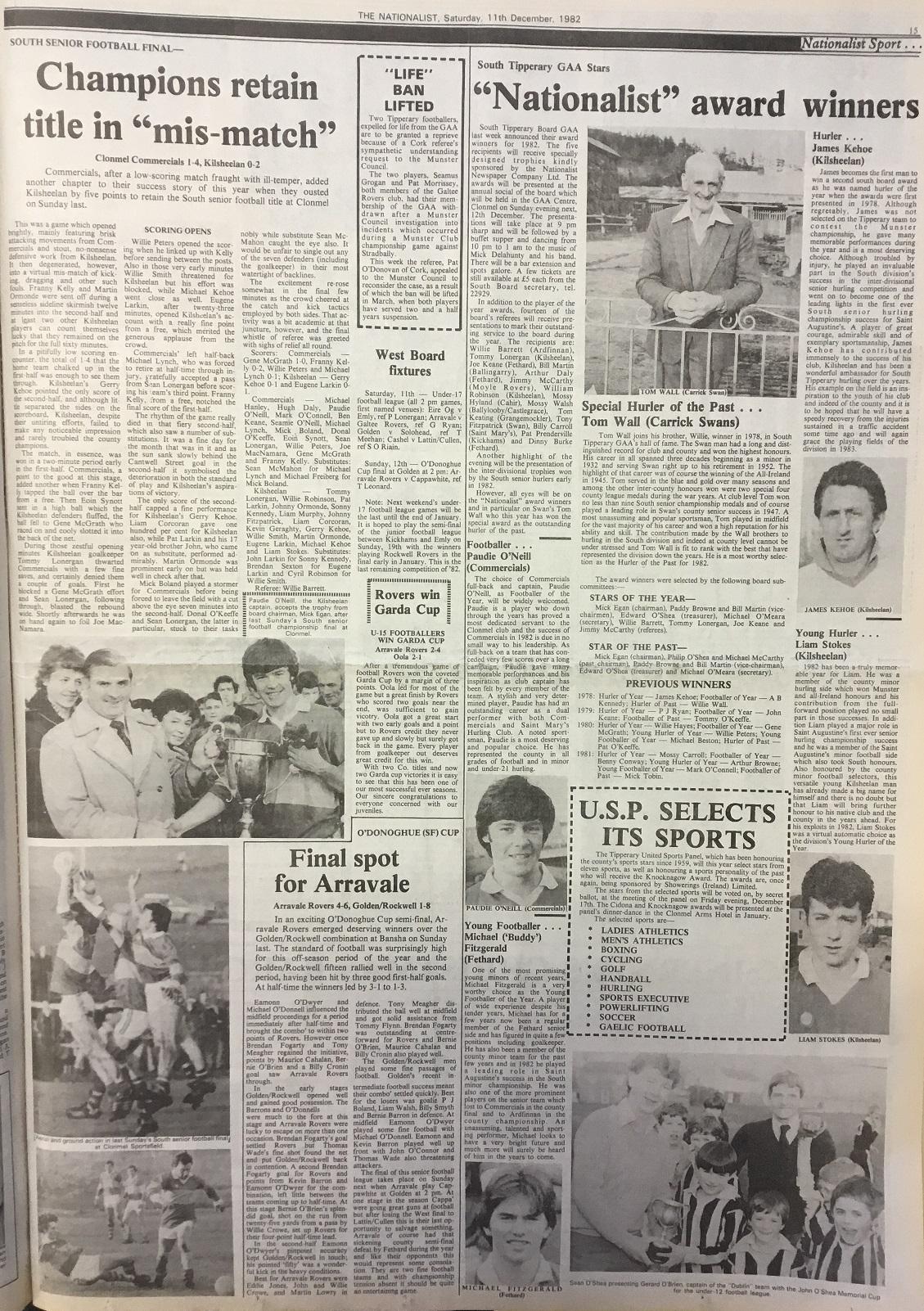 1982 South football final
