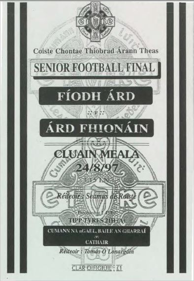 1997 South Tipperary Senior Football Final