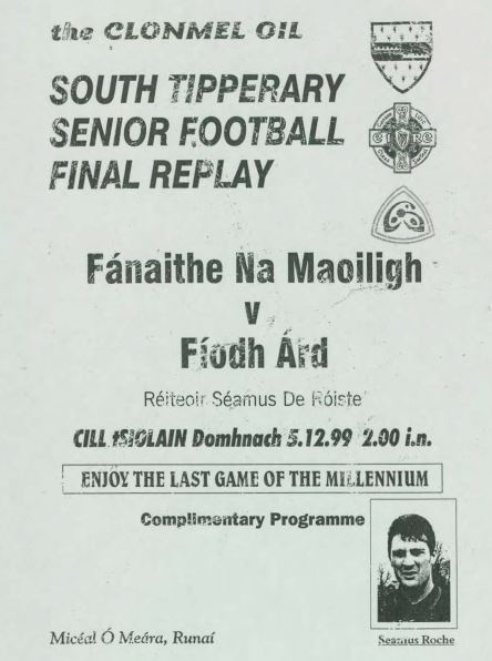 1999 South Tipperary Senior Football Final Replay