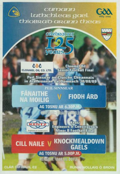 2009 South Tipperary Senior Football Final