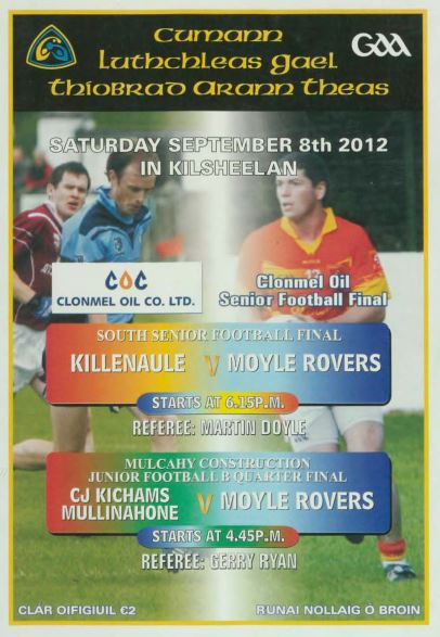 2012 South Tipperary Senior Football Final