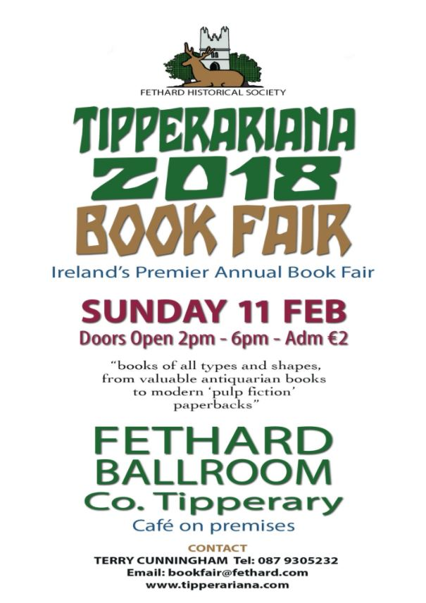 2018 Tipperariana Book Fair, Fethard, 11 February