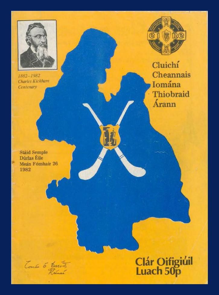 Hurling 1982