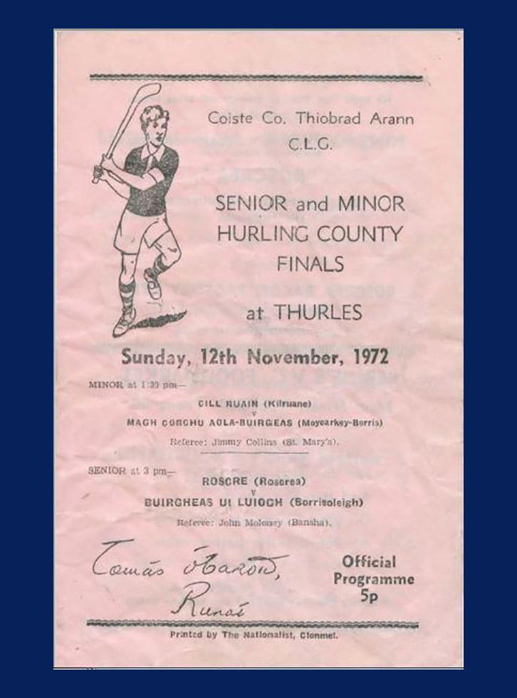 1972 County Hurling Final