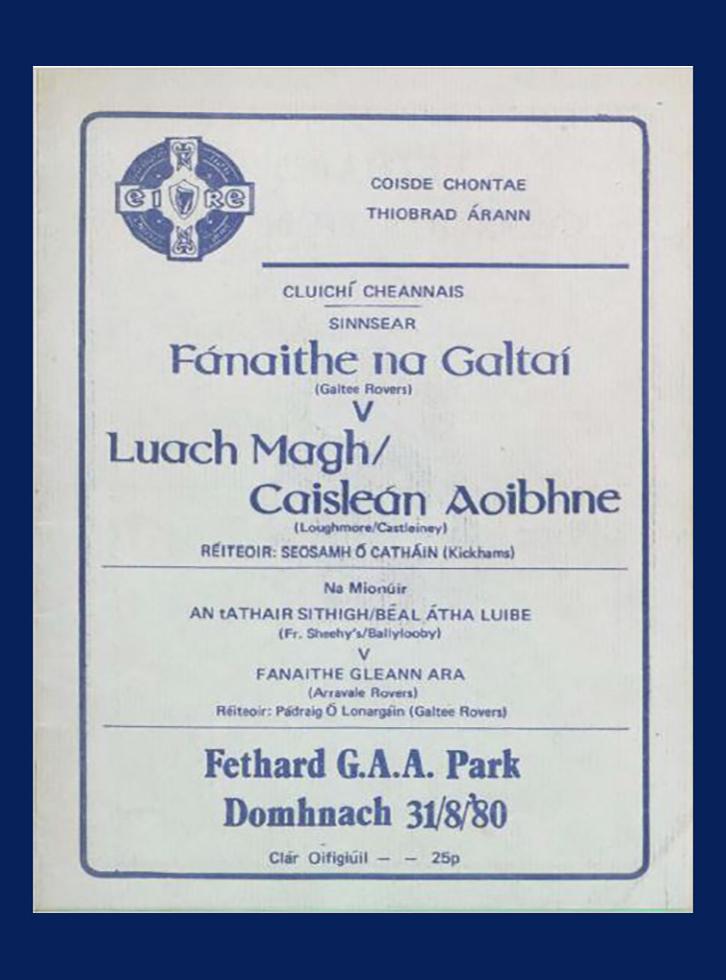 1980 Co Football Final