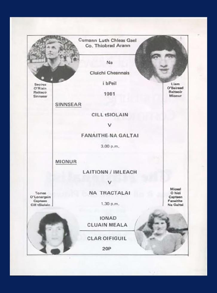 1981 Co Football Final