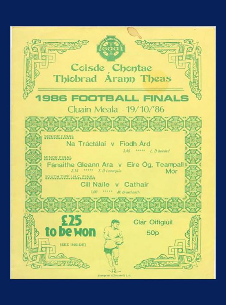 1986 Co Football Final