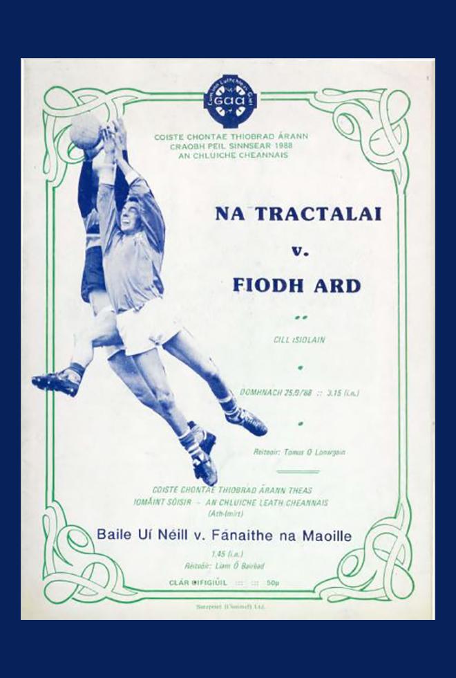 1988 Co Football Final