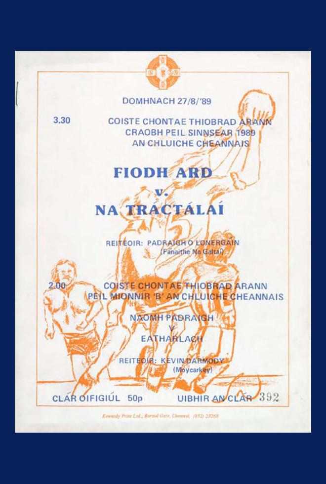 1989 Co Football Final