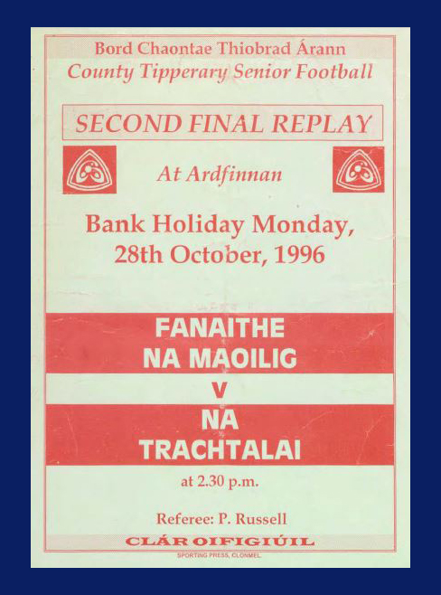 1996 Co. Tipperary Senior Football Final 2nd Replay.