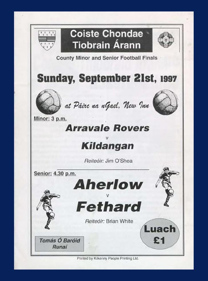 1997 Co Football Final