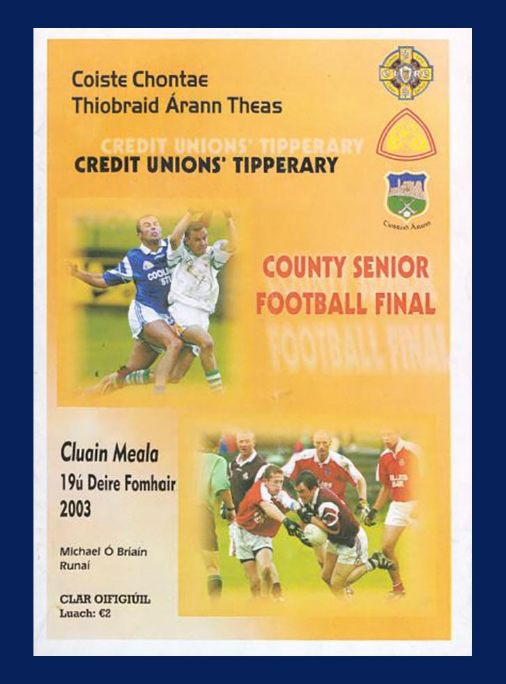 2003 Co Football Final