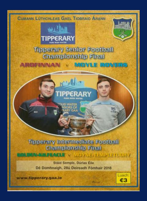 2018 Co Tipperary Senior Football Final C
