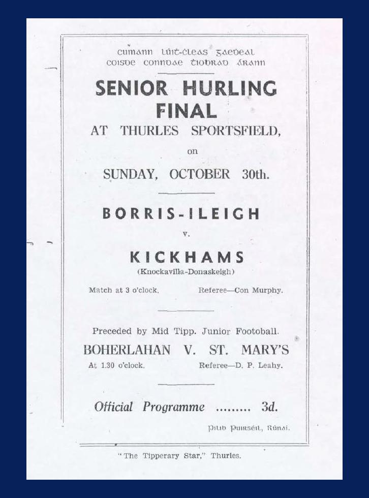1949 County Hurling Final