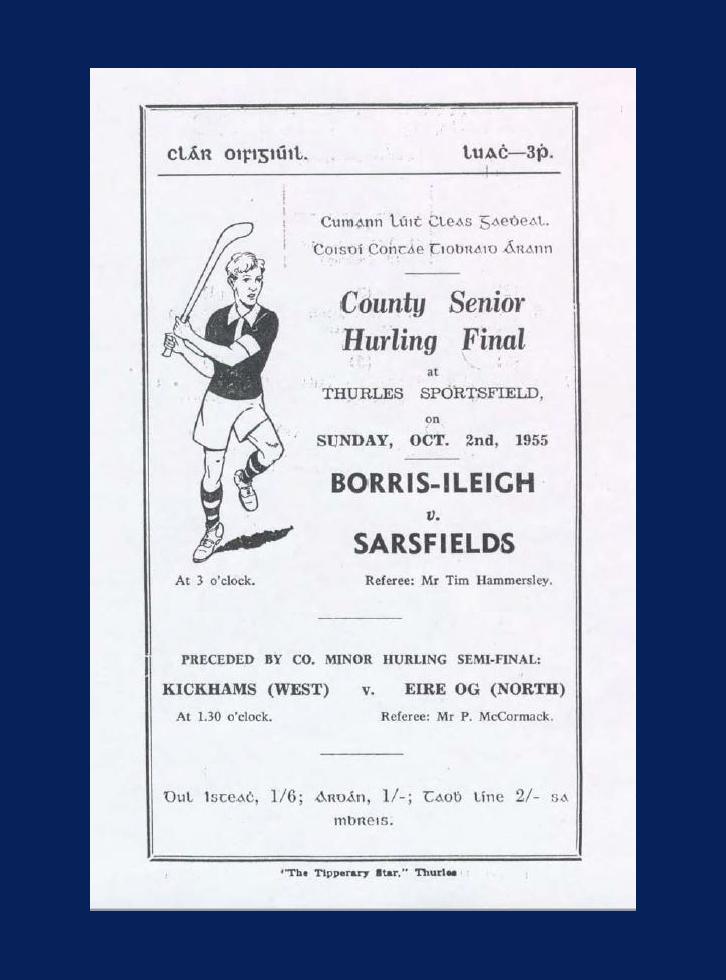 1955 County Hurling Final