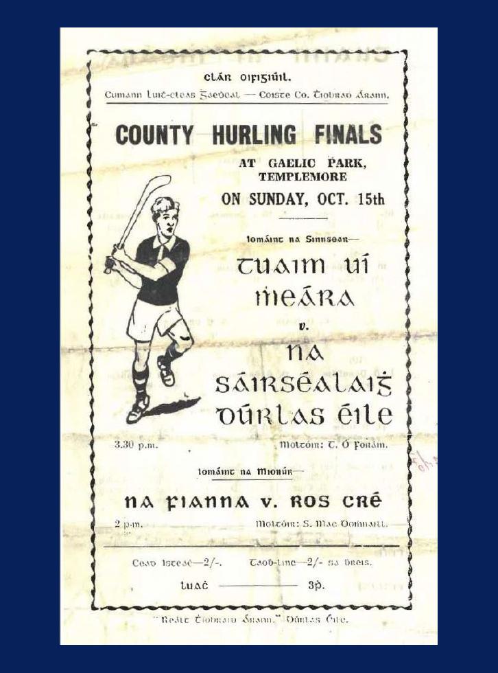 1961 County Hurling Final