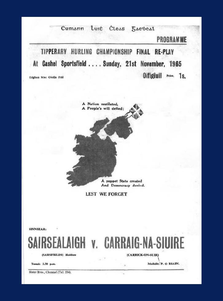 1965 County Hurling Final
