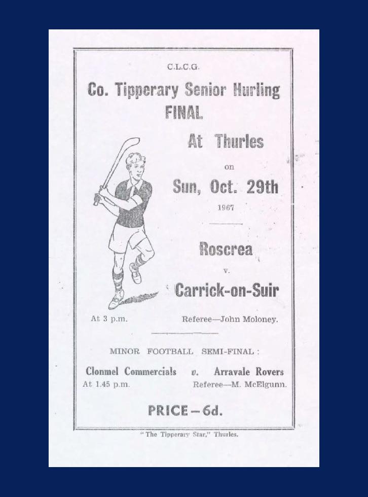 1967 County Hurling Final