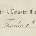 1897 GC Munster & Leinster Bank Thurles