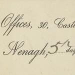 1901 GC R X M Gleeson