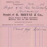 1917 GC R Moffat & Co. Templemore